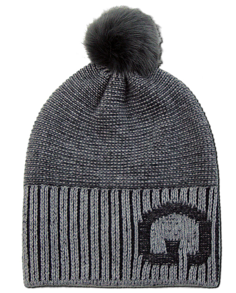 Øldberg grey igloo beanie