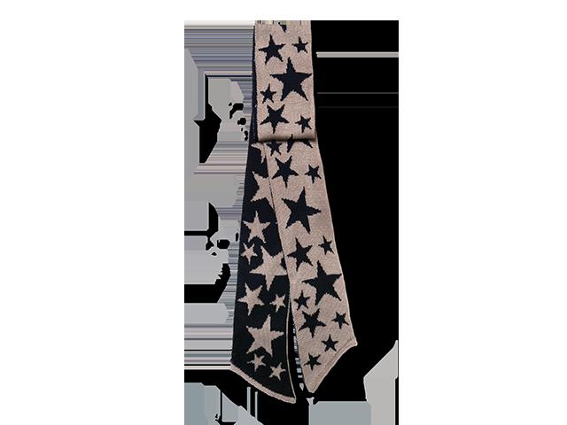 sciarpa seta stelle